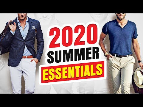 15 Summer Essentials Every Guy Should Own In2020