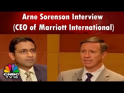 Arne Sorenson Interview (CEO of Marriott International) | Po