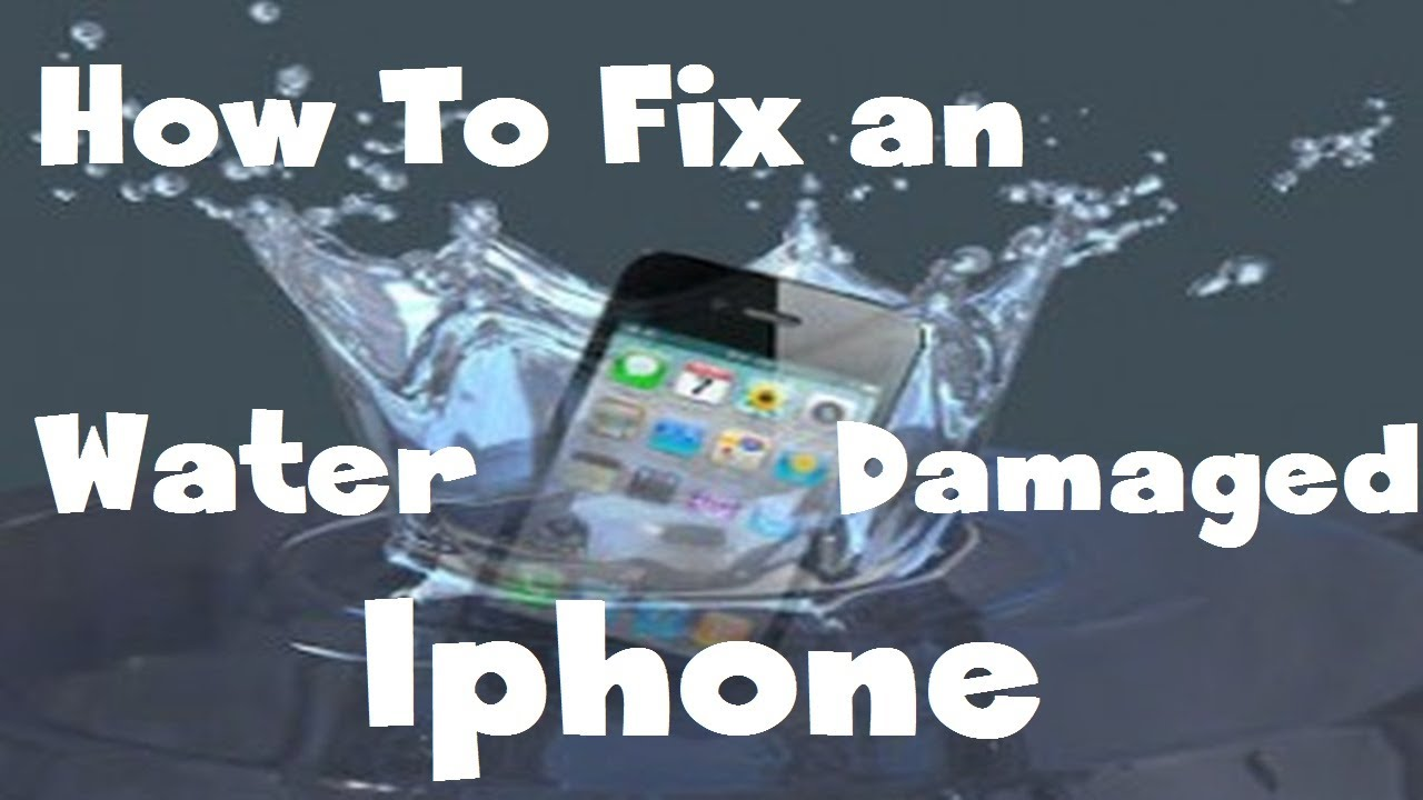 8495eb4517295d 100% Way to Fix a Water Damaged iPhone 4s 5 or ANY DEVICE [HD] - YouTube