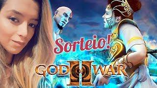 GOD OF WAR 2 - PRIMEIRA VEZ - HARD - 🎁🎁SORTEIO RED DEAD 2 + CONTROLE (DESCRIÇÃO)