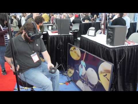 The MusicRoom VR at NAMMSHOW 2017