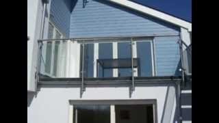 Stainless Steel and Glass Balconies UK