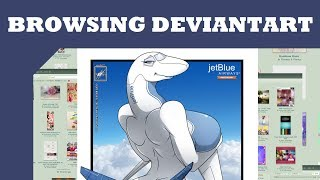 Browsing Deviantart: Anthro Planes and More thumbnail