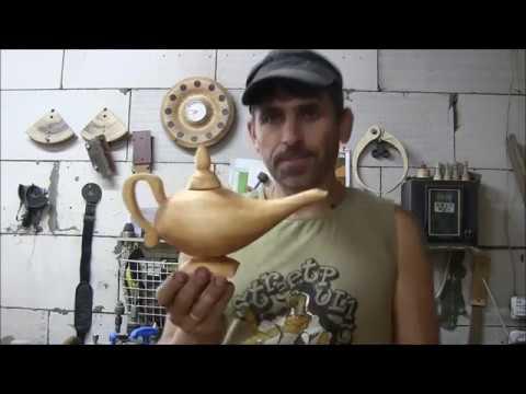 Как сделать лампу алладина своими руками