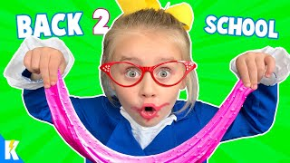 Back to School Hide and Seek!!! (Ava is the Weird Science Teacher!) KIDCITY
