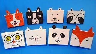 DIY Mini Notebooks | Easy Mini Origami Book | Back To School Crafts Ideas For Kids