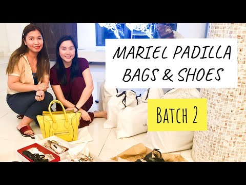 Letting go of Mariel Padilla's Luxury Bags and Shoes 2nd Batch! 😱