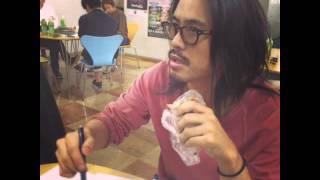 ザバックホーンのオフショット動画。大阪での取材の様子です!
