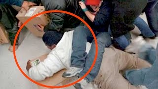CRAZIEST Black Friday Moments Caught On Camera - Compilation | What's Trending