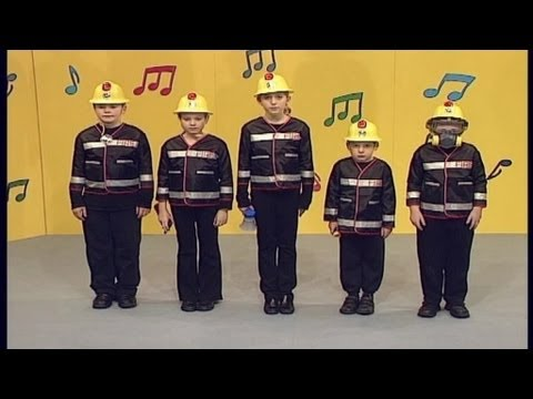 Five Brave Firefighters