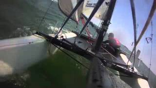 How Not To Sail F18 Catamarans...