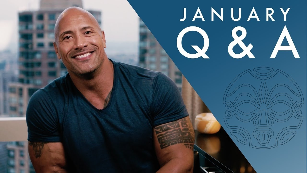 the rock responds to youtube comments seven bucks january q a youtube. Black Bedroom Furniture Sets. Home Design Ideas