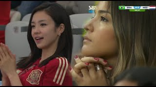 Beautiful Girl Fans of Sports