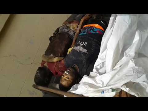 Biafra: killed on 17th Dec. 2015 by Nigerian soldiers and dumped outside the mortuary (Part 2).