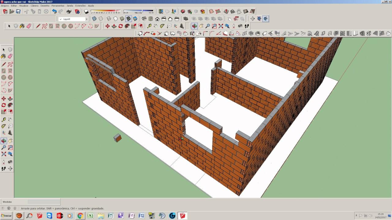 Como fazer uma casa de 40 metros quadrados v deo 04 for Como criar peces ornamentales en casa