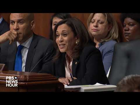 WATCH: Sen. Kamala Harris's full questioning of Attorney General Barr