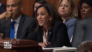 WATCH: Sen. Kamala Harris's full questioning of Attorney General Barr