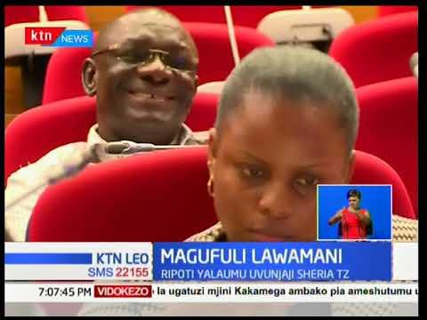 Serikali ya Tanzania imelaumiwa pakubwa kwa uvunjaji wa haki za binaadamu na ukatili kwa raia wake