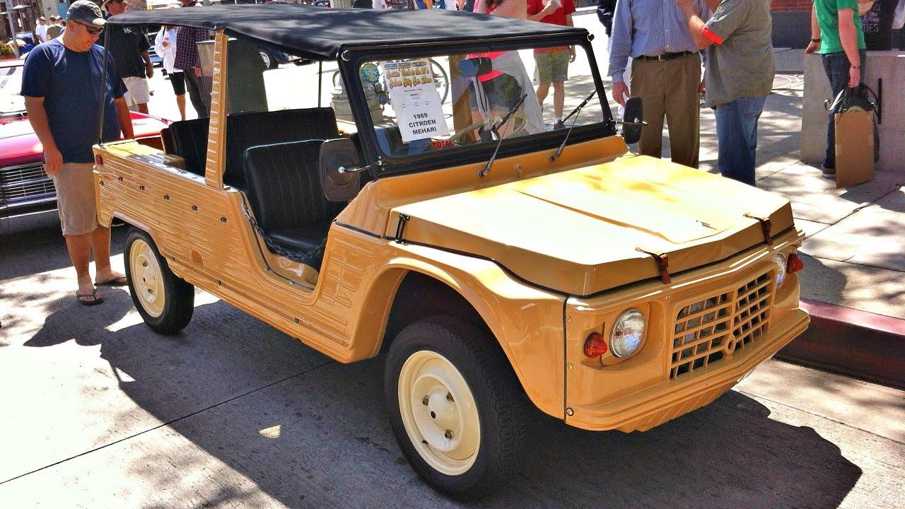 Citroen Mehari Jeep French Car