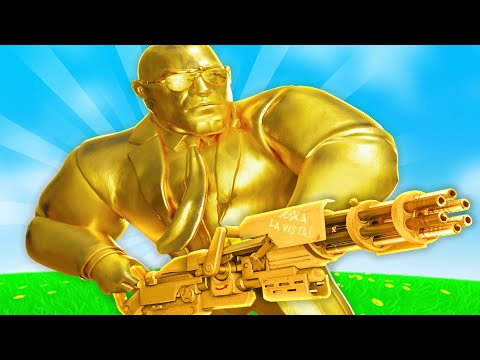 THICCEST GOLD BOI IN FORTNITE