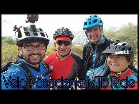 Velo Pasadena MTB Ride | Mt Wilson Toll road