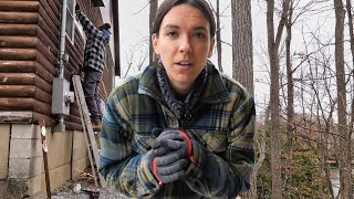 ALL GOES WRONG | Amateurs Renovate Cabin in the Woods