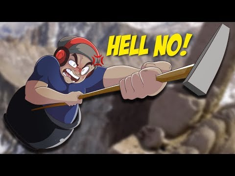 FRUSTRATION LEVELS MAXIMUM! [GETTING OVER IT] [PLUS SPEED RUN REACTION]