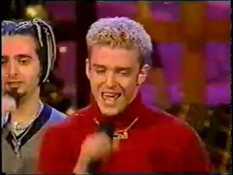 Nsync on Kathie Lee *Merry Christmas*