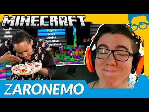 SKY WARS: HASQ ZARONEMO ATRAPALHOU A PARTIDA! - Minecraft