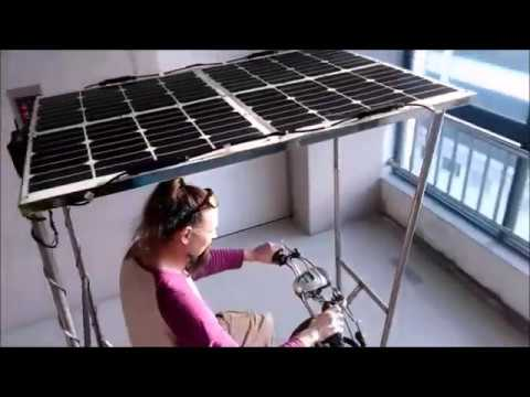 Solar Bicycle in Shanghai