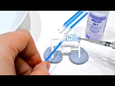 How To Apply Water Slide Decals