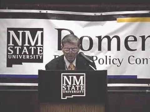 2009 Domenici Conference - Opening and Welcome