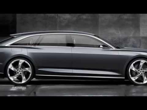 New Audi Prologue Avant Concept