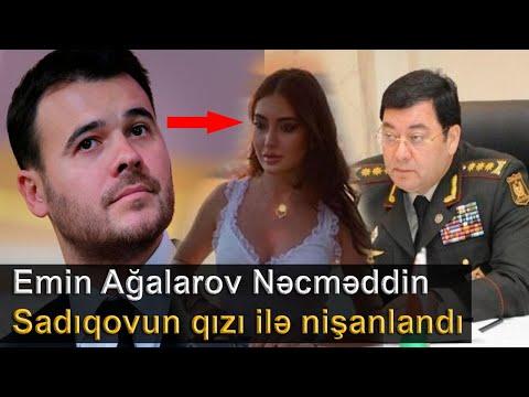Emin Ağalarov Nəcməddin Sadıqovun qızı ilə nişanlandı