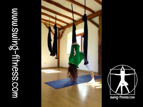 How to Aerial yoga swing