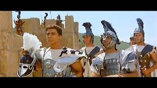 Троянская война (1961). Взятие троянцами лагеря греков