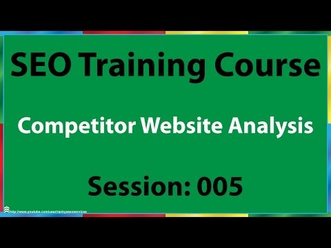 05 How to Analyze Competitors Website for SEO