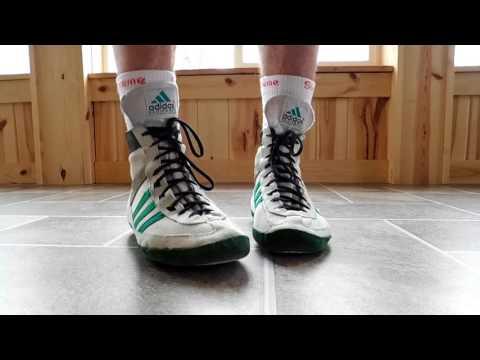 Adidas EQT Wrestling Shoe Close Up & Review (RARE)