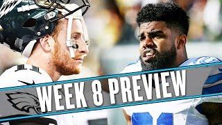 NFL Week 8 preview: Zeke Elliott's pantsless interviews are an inspiration | Uffsides