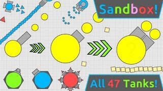 arena closer killed new sandbox diep io all 47 tanks tested in new sandbox update
