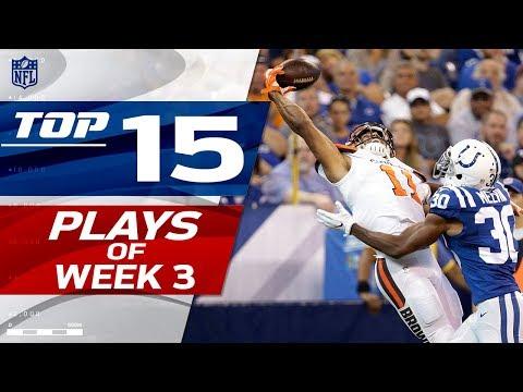 Top 15 Plays of Week 3 | NFL Highlights
