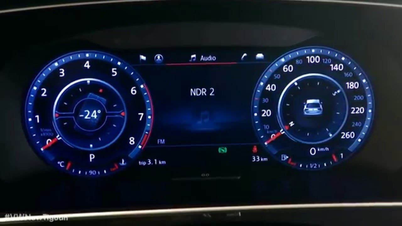 The All New 2016 Tiguan Active Info Display Youtube
