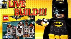 LIVE Build Stream - Lego Batman Movie Arkham Ayslum #70912