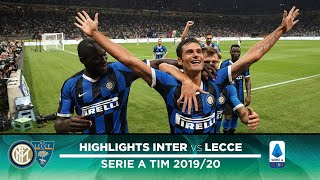 INTER 4-0 LECCE | HIGHLIGHTS | We start with a brilliant win!