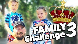 FAMILY CHALLENGE #3 Wer wird Pool Weltmeister? Lulu & Leon - Family and Fun