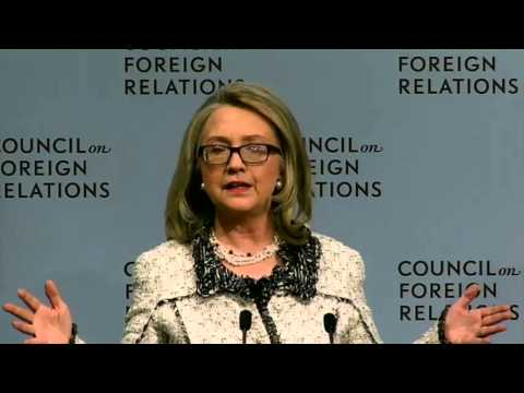Secretary Clinton Delivers Remarks on American Leadership