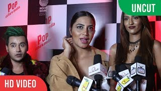UNCUT - Arshi Khan At Pop Culture Kinky Halloweens Full Night Party
