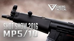 SHOT SHOW 2016: MP5/10mm