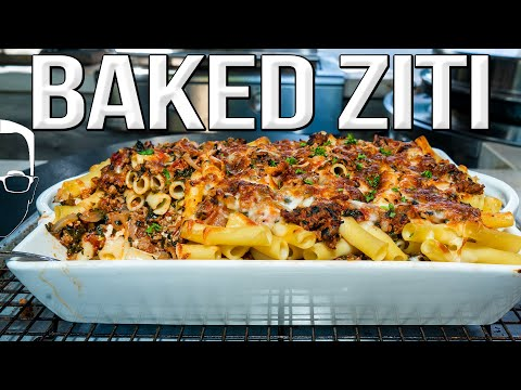 THE BEST (SPICY) BAKED ZITI | SAM THE COOKING GUY 4K
