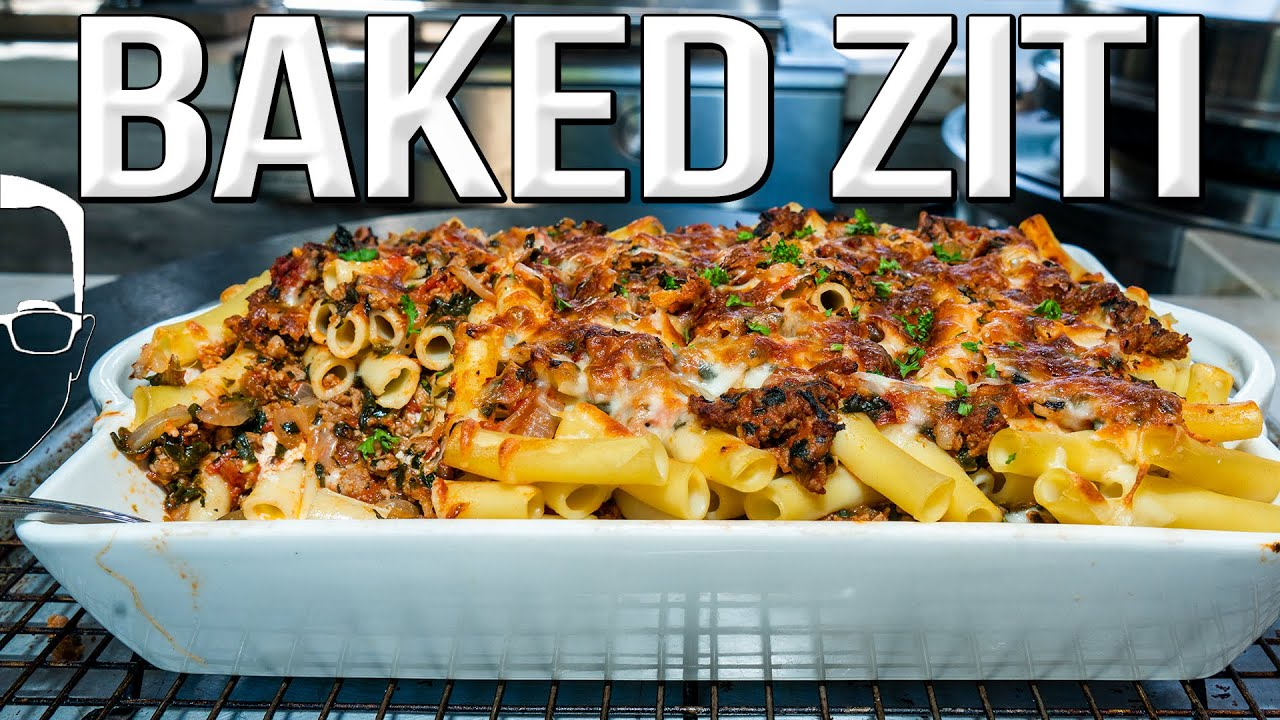 The Best Spicy Baked Ziti Sam The Cooking Guy 4k Cooking Shows